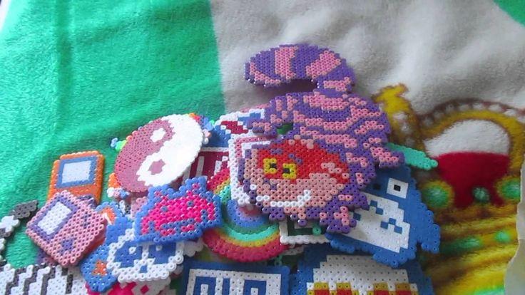 nuevas creaciones de hama beads ^^