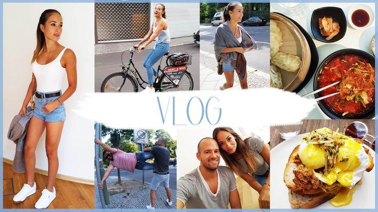 Vlog - Food Porn - MEGA Szene - Hamburg - Fahrrad durch Berlin - Big Bus...