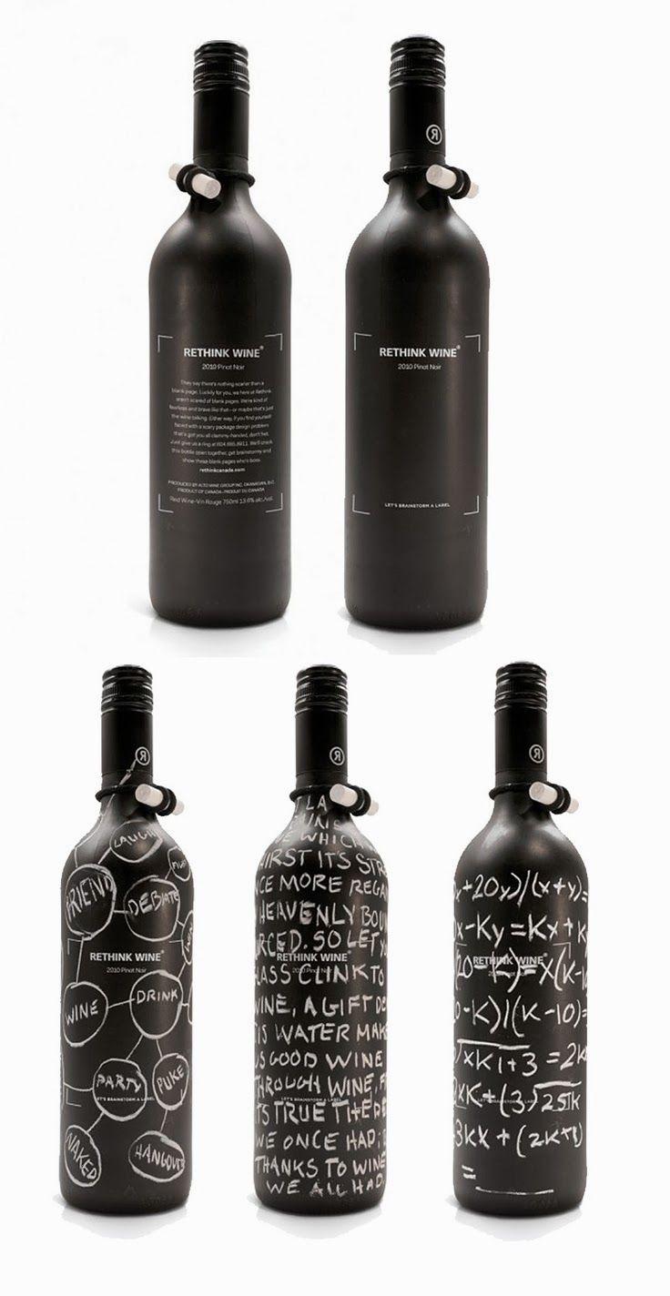 Rethink Wine #design #packaging