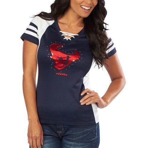 ... Him Shimmer Jersey Houston Texans Majestic Womens Draft Me VII T-Shirt  – Navy Blue - Fanatics. Houston Texans Arian Foster ... d026f52a6