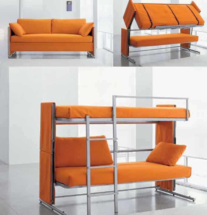 Sofá litera #mueble_multifuncional #multifunctional_furniture