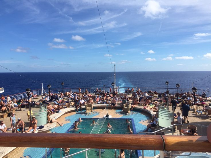 Seaview bar and pool (adults only pool) ms Noordam