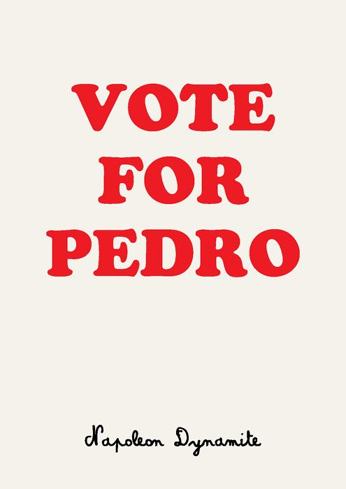 vote for pedro - I really want this t-shirt