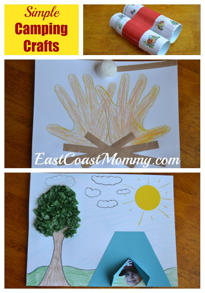 Camping Crafts And Activities