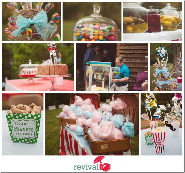 Vintage Carnival Wedding Ideas: Carnival Themed Wedding Fair Themed Wedding Photos By