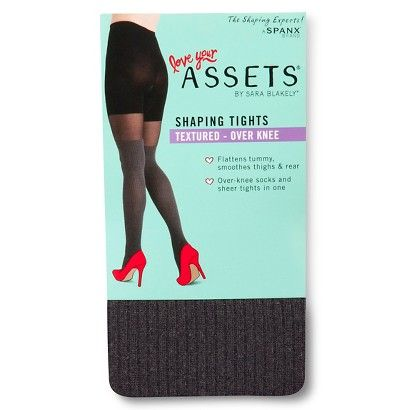Assets® Women's Over the Knee Tights Gray - Gray