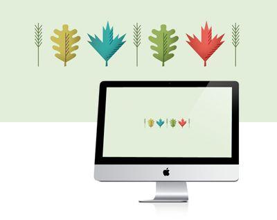 Fall desktop wallpaper freebie | How About Orange