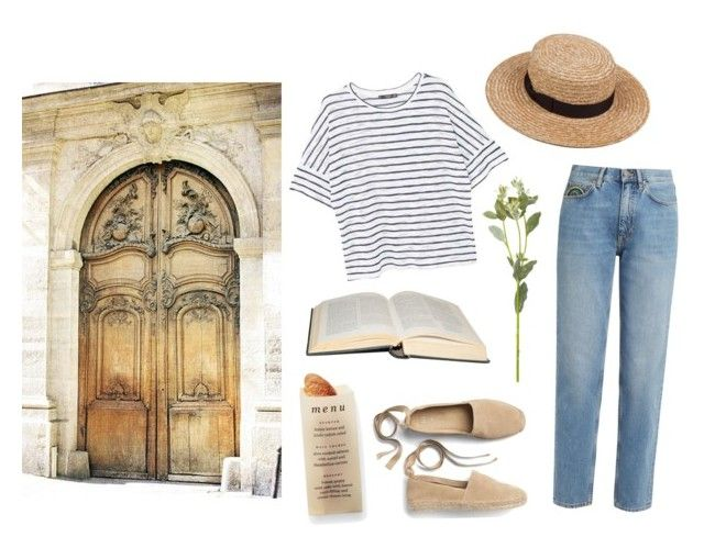 """""""Quelqu'un m'a dit"""" by mozart-and-coffee on Polyvore featuring MANGO, M.i.h Jeans, Gap, OKA, Martha Stewart and vintage"""