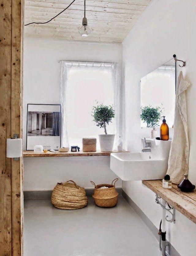 Salle de bain aux inspirations scandinaves
