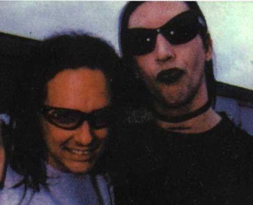 Jonathan Davis and Marilyn Manson
