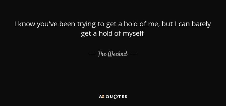 TOP 21 QUOTES BY THE WEEKND | A-Z Quotes