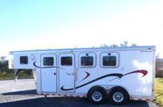 2001 Sooner 3 horse slant goose-neck horse trailer For Sale $9,500.00