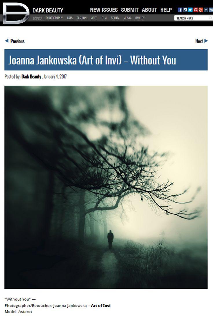 Dark Beauty Magazine publication Joanna Jankowska/Artofinvi art of invi  https://www.facebook.com/artofinvi