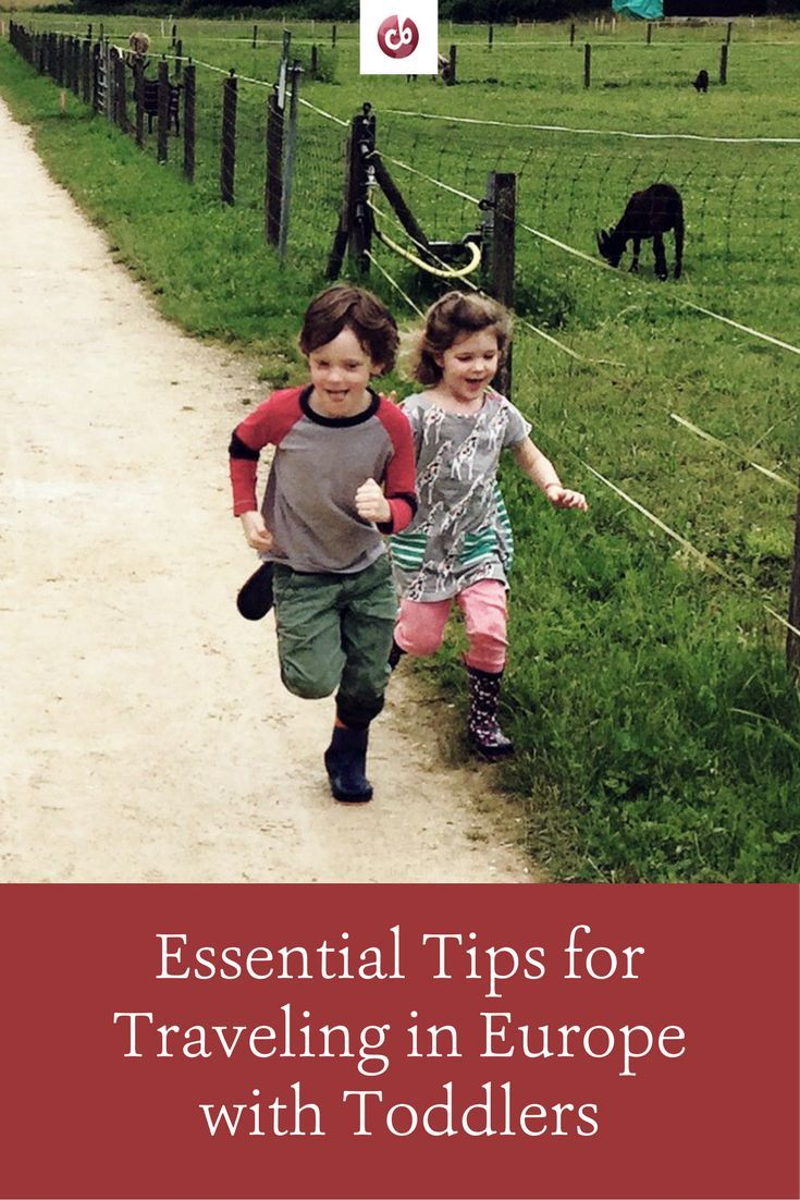 Best Tips for Europe with Toddlers