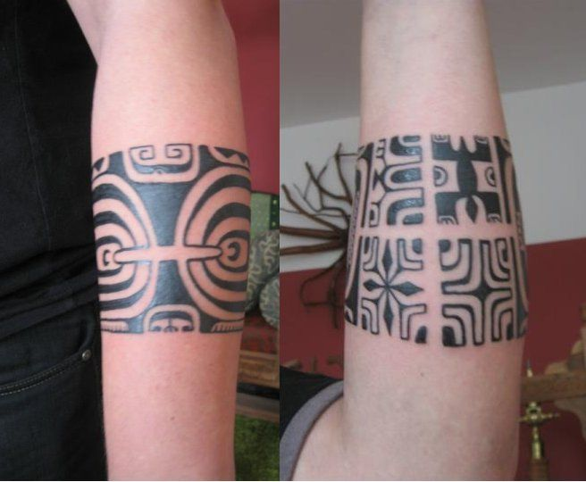 48 best images about polynesian band tattoo on pinterest tribal tattoos for men warrior. Black Bedroom Furniture Sets. Home Design Ideas