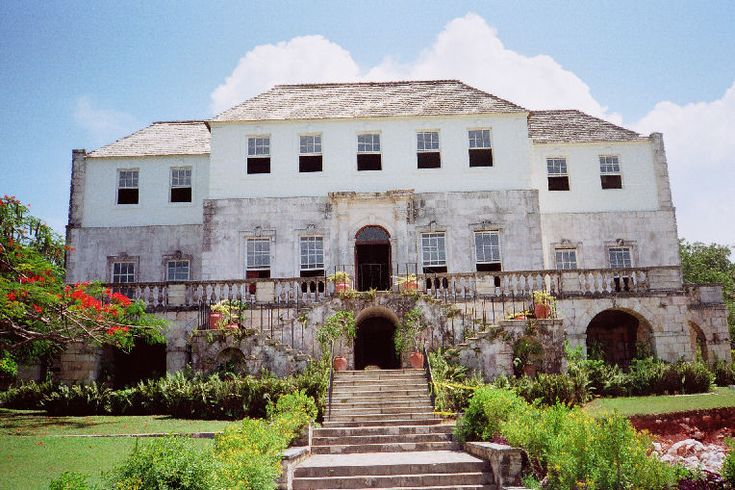 Rose Hall Jamaica Vacation | As the story goes a long time ago there was a white woman named Annie Palmer who owned this great house and plantation. When she died she refused to leave the house hence the story of the White Witch of Rose hall.