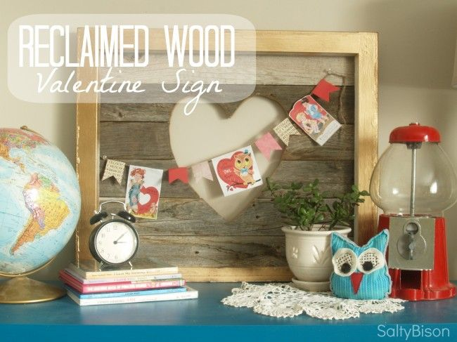 Love this Reclaimed Wood Valentine Sign from Salty Bison on 30 Handmade DaysHeart Signs, Reclaimed Wood Signs, Valentine Signs, Wood Heart, Vintage Valentine, Cut Out, Reclaimedwood, Barns Wood, Wood Valentine