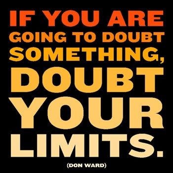 Don't Doubt You Can Do It!