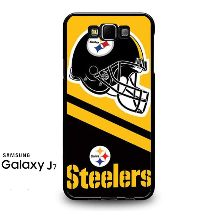 Pittsburgh Steelers Helmet Stripes Samsung Galaxy J7 Prime Case