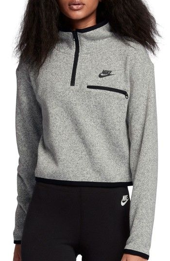 1e9eb9e946a9 Free shipping and returns on Nike Sportswear Women s Half Zip Knit Top at  Nordstrom.com. Knit from soft