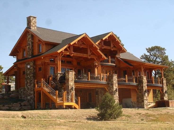 Colorado Style Homes   Google Search · Wood StoneStone HousesDream ...