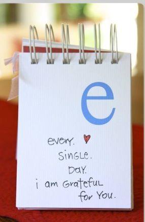 ich bin jeden einzelnen Tag glücklich di zu haben