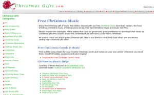 Get Jolly With These Free Christmas Music Downloads: Free Christmas Music Online at ChristmasGifts.com