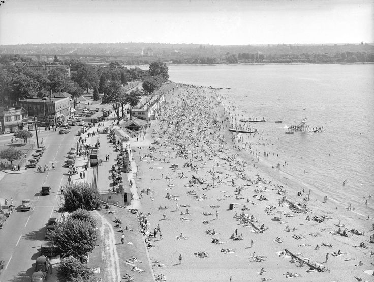 Vancouver Icons: The English Bay Slide » Vancouver Blog Miss604