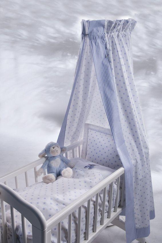 sengehimmel baby Sengehimmel i bomull. Mønster med stjerner.   baby boo   Pinterest  sengehimmel baby