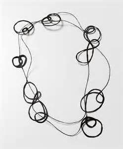 Squiggle necklace by designRborg