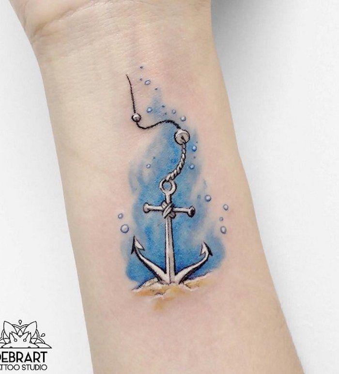 ▷ 1001 + coole Anker Tattoo Ideen und Infos über ihre symbolischen Bedeutungen