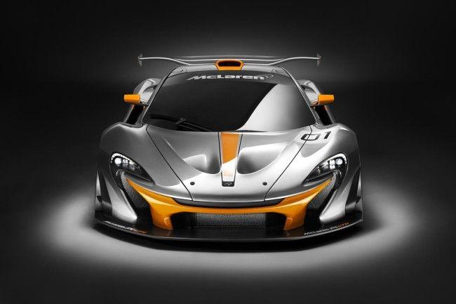 McLaren P1 GTR Design Concept Front Angle