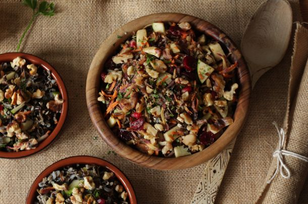 For those on a special diet, making the Christmas feeling come alive will be a breeze with gluten-free party food like this beautiful wild rice recipe.