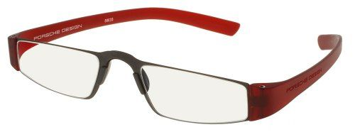 Porsche Design p8801 Reading Tool with Rodenstock Clear Ophthalmic Lenses -- Reading Glasses