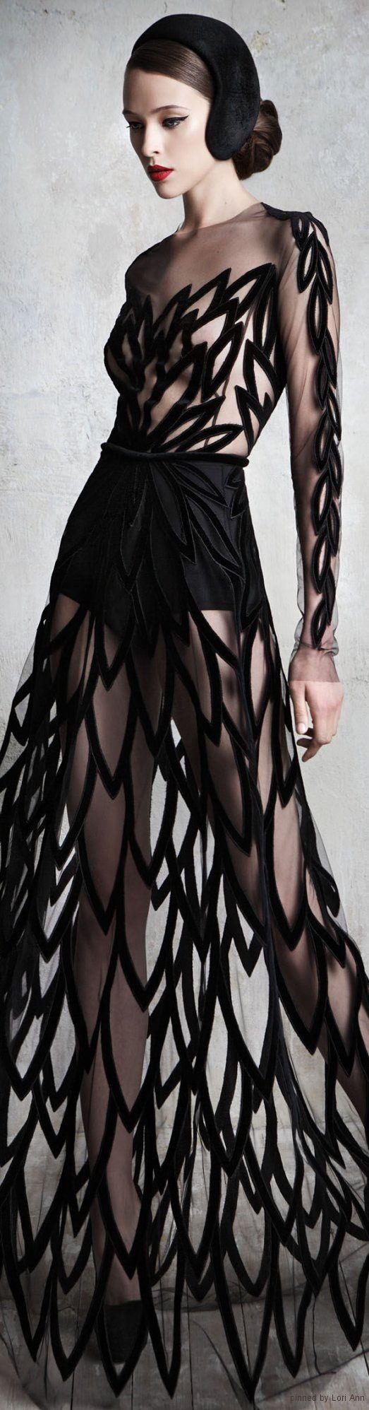 Yulia Yanina Couture #fashion #dress