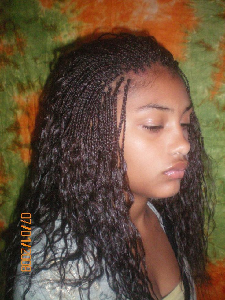 95 Best 04編髮 Micro Braids Images On Pinterest Hair
