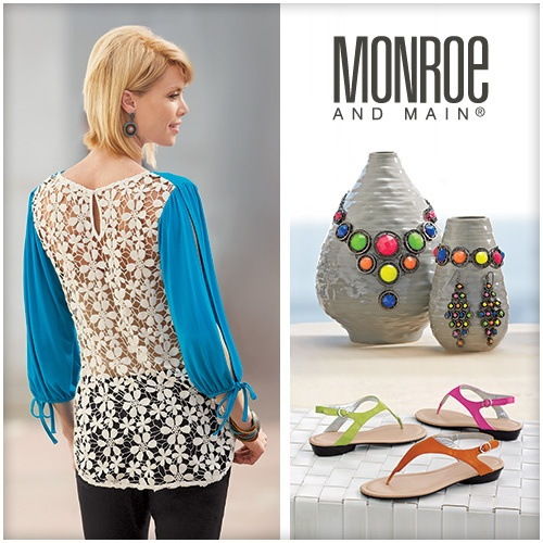 Baubles, Accoutrements and Garb Spring Fashionista Prize from @Monroe and Main Catalog