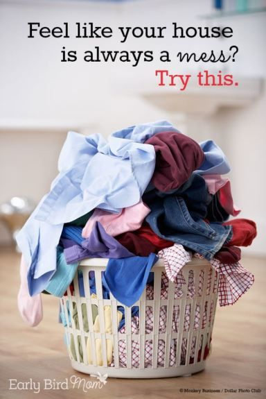 Do you feel like your house is always a mess with mail piled up, messy shoes, beds unmade? You might be making one critical error. Here's a simple tip how to fix it.