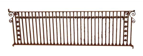 Sterling Hotel Cast Iron Balcony Railing - Fencing
