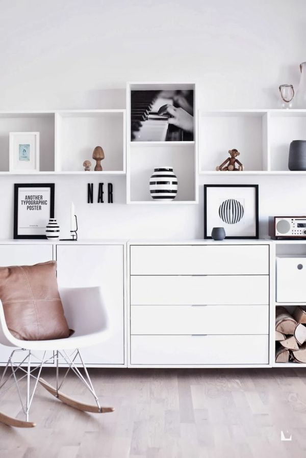 innendesign ideen contemporary trends 2015 etagere rangement rangement mural et. Black Bedroom Furniture Sets. Home Design Ideas