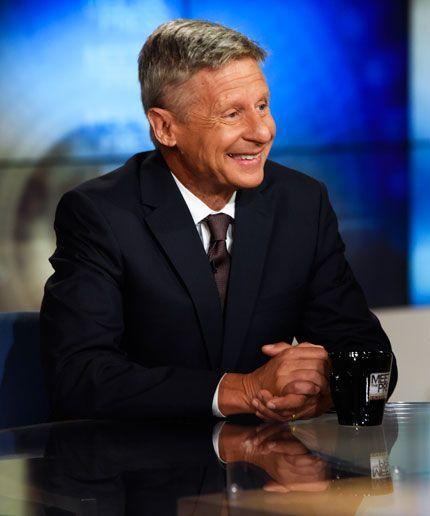 Who Is Gary Johnson, Libertarian Running For President