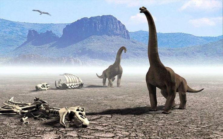 Как динозавр вымерший 112 млн. лет назад, превратился в 3D статую