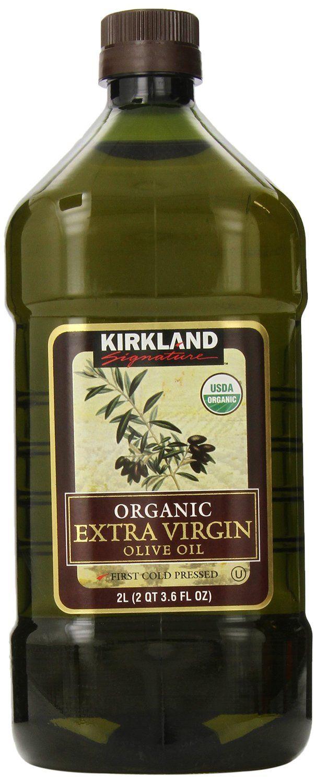 Kirkland Signature Organic Extra Virgin Olive Oil 2L ( 67.6 fl. oz)     USDA Organic     First Cold Pressed  ****THE BEST ORGANIC OLIVE OIL BAR NONE!!!!!
