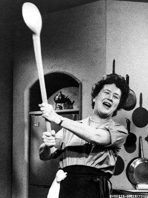 """""""The only real stumbling block is fear of failure. In cooking you've got to have a what-the-hell attitude."""" Julia Child."""