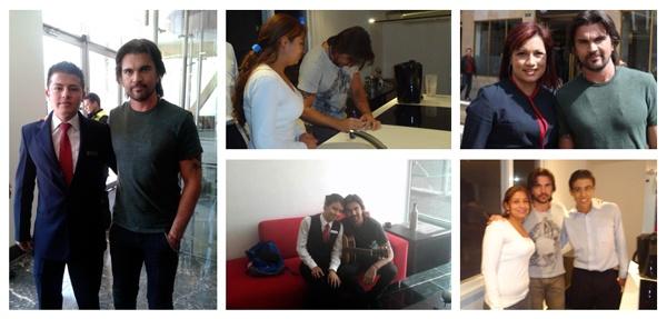 Juanes visita el Hotel Continental Bogotá