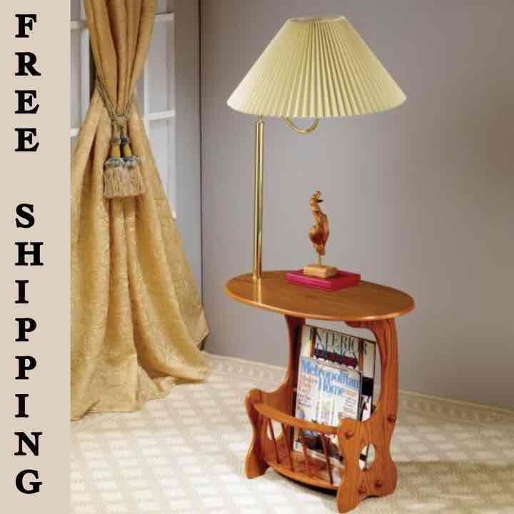 Traditional Magazine Storage Lamp Table - Mercari: Anyone can buy & sell