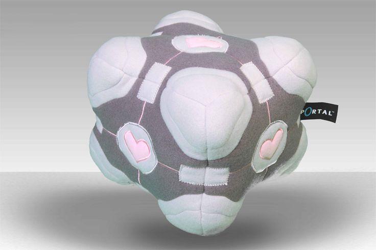Gamer heaven - Portal 2 Plush Figure Companion Cube, $50.63 (http://www.gamer-heaven.net/portal-2-plush-figure-companion-cube/)