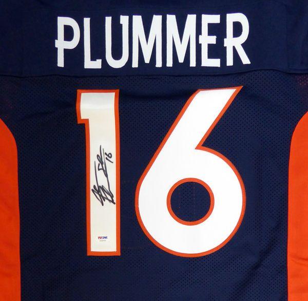 Denver Broncos Jake Plummer Autographed Blue Jersey PSA/DNA
