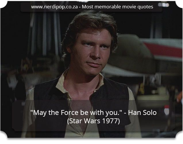 Most memorable movie quotes - Star Wars