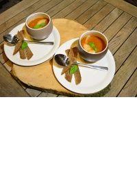 tomaten / witte bonen soep